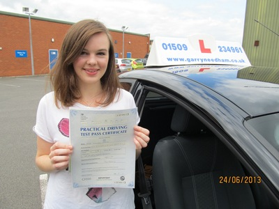 1st time driving test pass - Zero Faults