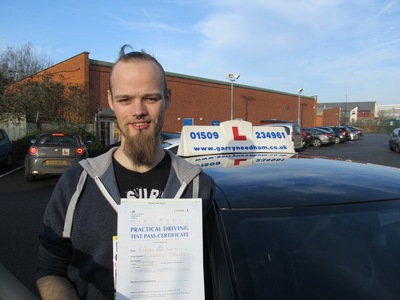 I passed my test first time with only 3 minors thanks to Garrys tuition.