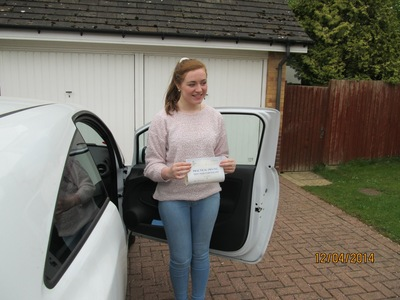 Garry taught my daughter to drive, she passed her test