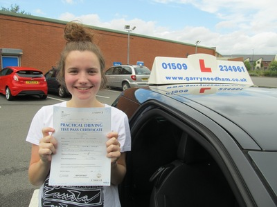 Passed first time thanks to Garry